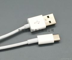 USB2.0 Standard-A to USB 3.1 Type-C 10Gbps Fast Data Sync Charge Cable