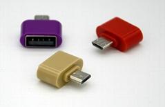 USB转micro适配器转换器