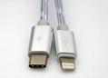 一拖二手機數據線適用於蘋果66s和樂視