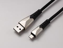 Nylon Braided Sync Charge USB MICRO  Data cable