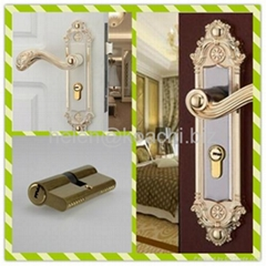 Euro Profile High Security Double Turn Pin Brass Door Lock Cylinder