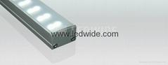 Aluminum extrusion profile for pendant led light