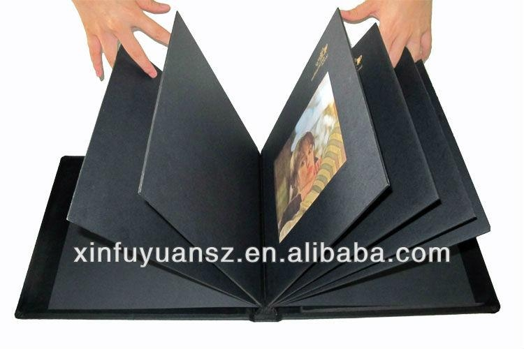 Luxury PU leather dubai sexy photo album