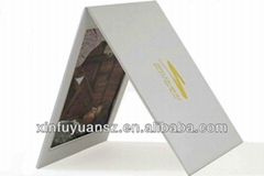 Two-sided PU leather photo picture frame