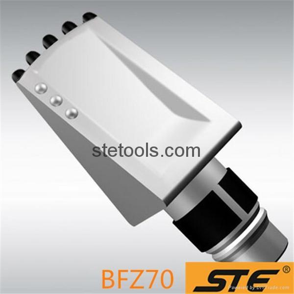 Long durability round shank rotary rock bit carbide betek trencher drill teeth b 2