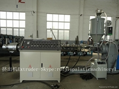 MPP corrugated pipe production line (MPP electric pipe machine)