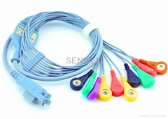 beijing shijijinke holter ecg cable and leadwires