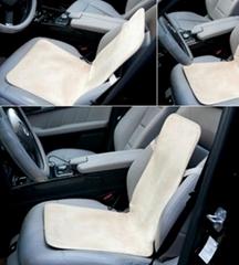 Car seat backrest heating pad