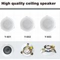 High quality control ceiling speaker (Y-601) 2