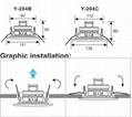 Bathroom  ceiling speaker with waterproof (Y-204) 3