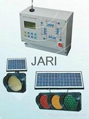 WIRE/WIRELESS SOLAR POWER TRAFFIC SIGNAL CONTROL SYSTEM
