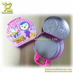 Children gift tin box