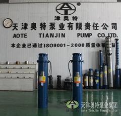水利工程以及工业热水循环用的热水潜水泵