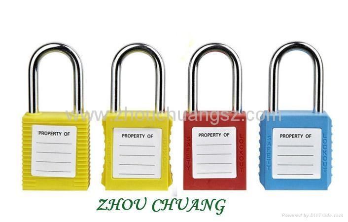 ZC-G01 38mm剛材質鎖梁工業安全挂鎖 3
