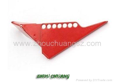 ZC-F04 標準球閥鎖,洲創標準球閥鎖,安全鎖具廠家OEM訂製 2