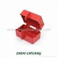 ZC-D31 堅固耐用聚苯乙烯材質 電氣插頭鎖 安全鎖具專家 6