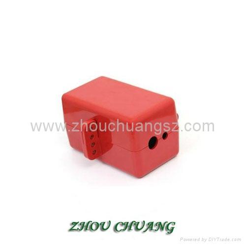ZC-D31 堅固耐用聚苯乙烯材質 電氣插頭鎖 安全鎖具專家 5