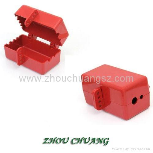 ZC-D31 堅固耐用聚苯乙烯材質 電氣插頭鎖 安全鎖具專家 4