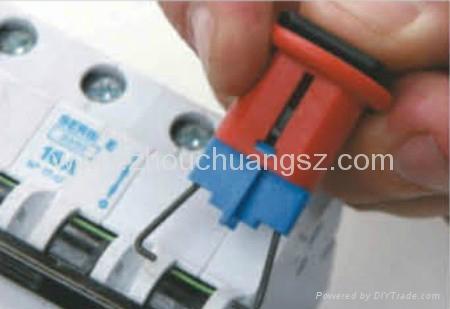 廠家直銷 ZC-D02 小型斷路器鎖,洲創微型斷路器鎖 3