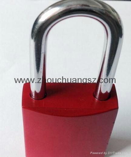 ZC-G61  不鏽鋼鎖梁鋁挂鎖 3