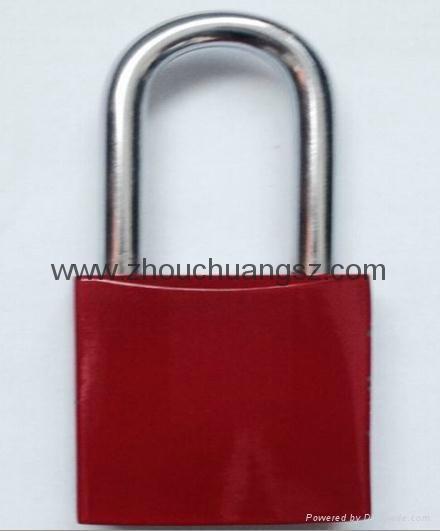 ZC-G61  不鏽鋼鎖梁鋁挂鎖 5