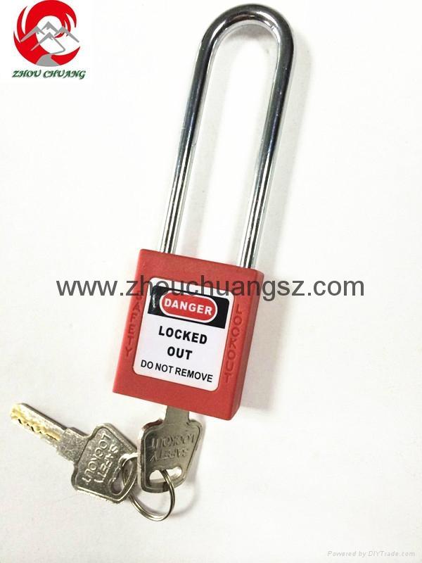 ZC-G21L 長梁不鏽鋼挂鎖 3