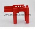2014 新產品安全防護ZC-F01 萬用球閥鎖具,洲創萬用門閥鎖,安全鎖具OEM 4