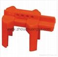 2014 新產品安全防護ZC-F01 萬用球閥鎖具,洲創萬用門閥鎖,安全鎖具OEM 3