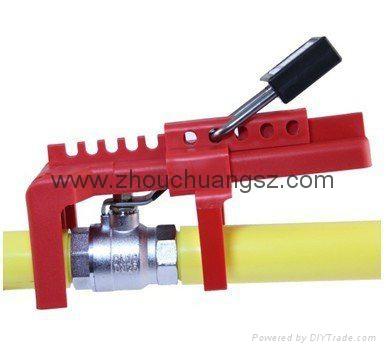 ZC-F02 可調節閥門鎖,各色球形閥門鎖 6