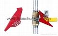 ZC-F04 標準球閥鎖,洲創標準球閥鎖,安全鎖具廠家OEM訂製 4