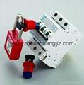 廠家直銷 ZC-D02 小型斷路器鎖,洲創微型斷路器鎖 4