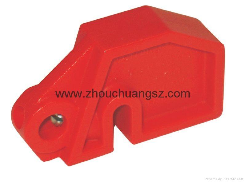 ZC-D08 廠家直銷紅色安全斷路器 2