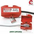 安全防護洲創ZC-D41、 電器插頭鎖電器安全鎖具廠家直銷鎖具批發 3