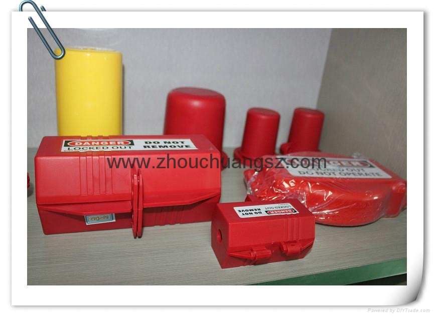 安全防护洲创ZC-D41、 电器插头锁电器安全锁具厂家直销锁具批发 4