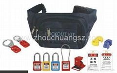 ZC-X03  Safety Lockout Bag, Can Be Worn Around The Waist