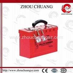 ZC-X01 Red Color, Steel Safety Lockout Kit Manufacturer
