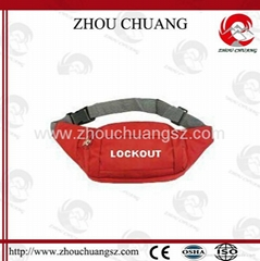 ZC-X03  Safety Lockout Bag, Can Be Worn Around The Waist