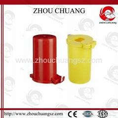 ZC-M31 堅固耐用聚苯乙烯塑料材質 氣瓶鎖 高壓氣瓶煤氣瓶閥門鎖