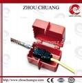 ZC-D31 堅固耐用聚苯乙烯材質 電氣插頭鎖 安全鎖具專家 2