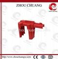 2014 新產品安全防護ZC-F01 萬用球閥鎖具,洲創萬用門閥鎖,安全鎖具OEM 2