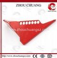 ZC-F04 标准球阀锁,洲创