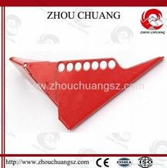 ZC-F04 标准球阀锁,洲创标准球阀锁,安全锁具厂家OEM订制