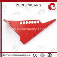 ZC-F04 標準球閥鎖,洲創標準球閥鎖,安全鎖具廠家OEM訂製