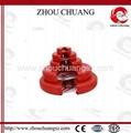 ZC-F11 Durable Polypropylene Gate Valve Lockout,OSHA Standard Lockout   3