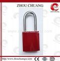 ZC-G61  不鏽鋼鎖梁鋁挂鎖 2