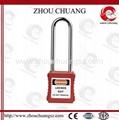 ZC-G21L 長梁不鏽鋼挂鎖 2