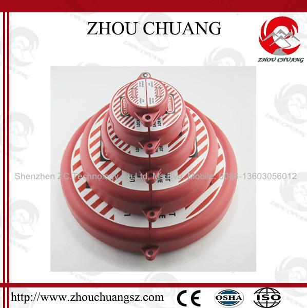 廠家直銷 ZC-F12A 閘閥鎖,門閥鎖,輪閥鎖,洲創門閥安全鎖具OEM 1