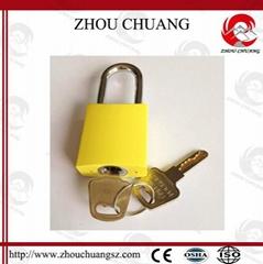 ZC-G61  不鏽鋼鎖梁鋁挂鎖