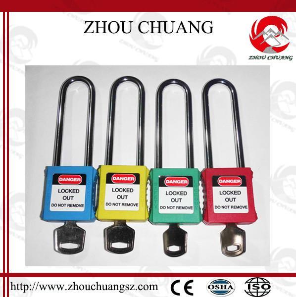 ZC-G21L 長梁不鏽鋼挂鎖 1