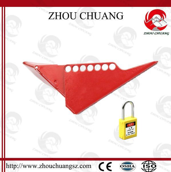 ZC-F04 標準球閥鎖,洲創標準球閥鎖,安全鎖具廠家OEM訂製 6
